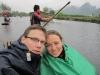 Yangshuo Umgebung auf dem Floß